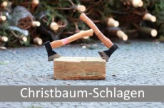 Christbaum-Schlagen
