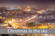 Christmas in the sky